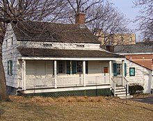 The last home of Edgar Allan Poe and Virginia Poe before death